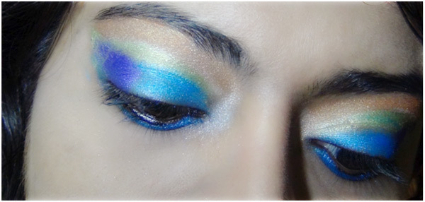 Peacock Eye Makeup 8