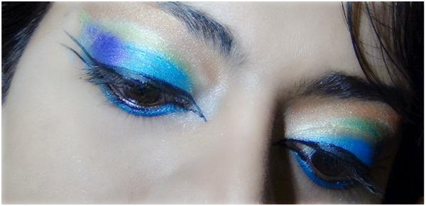 Peacock Eye Makeup 9