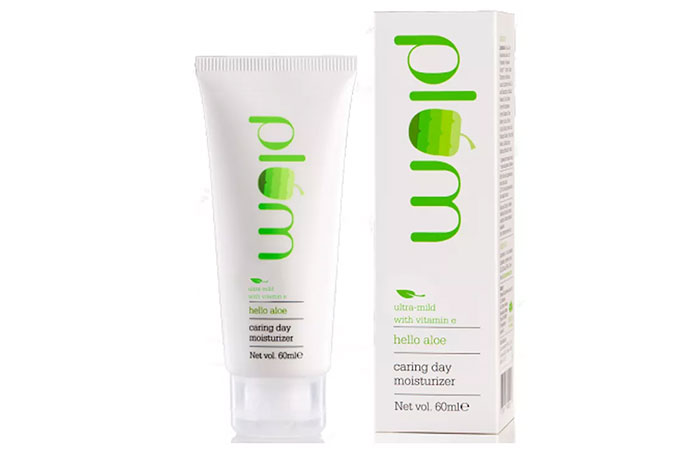 Plum Hello Aloe Caring Day Moisturizer - Face Creams For Dry Skin