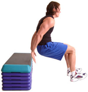 Dips Exercises - Plyometric dips