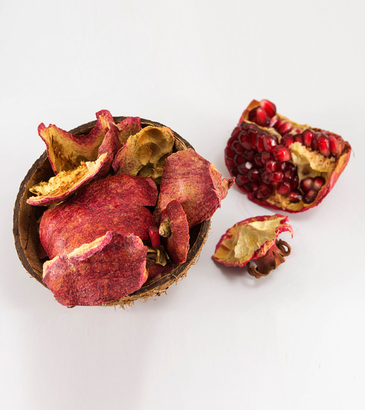 12 Promising Benefits Of Pomegranate Peel For Skin, Hair, And Health