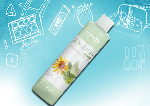 Pure Nature Organic Soothing Face Wash