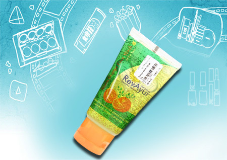 Revayur Neem Orange Face Wash