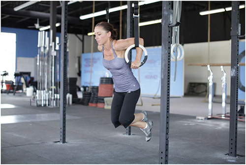 Dips Exercises - Ring dips