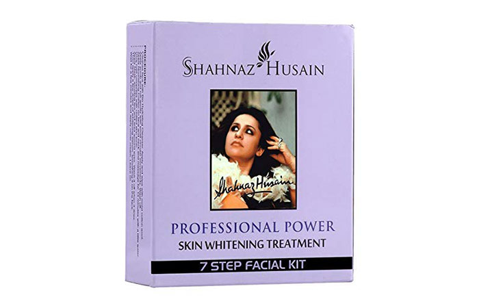 Shahnaz Husain Professional Power Skin Whitening Treatment