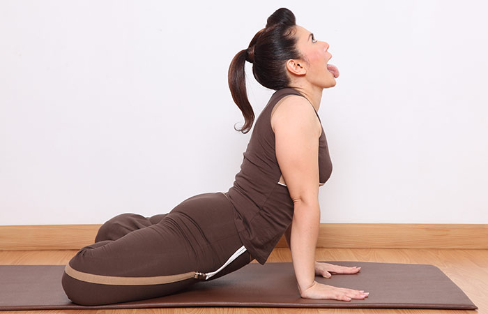 Simhasana - yoga for weight loss