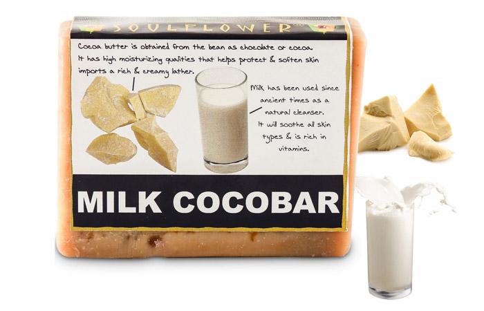 Soulflower Milk Cocobar Soap