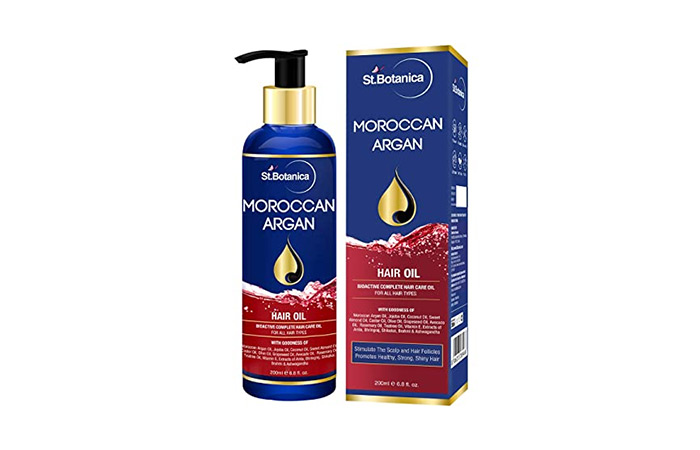 St. Botanica Moroccan Argan Hair Oil