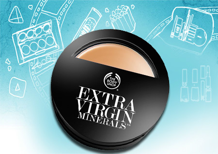 The Body Shop Extra Virgin Minerals Cream Compact Foundation SPF 15