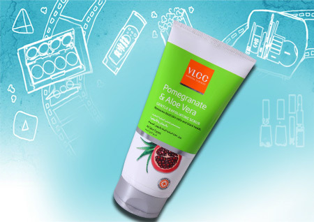 VLCC Pomegranate & Aloe Vera Gentle Exfoliating Scrub