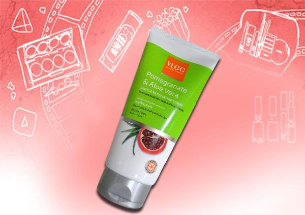 VLCC Pomegranate and Aloe Vera Gentle Exfoliating Scrub