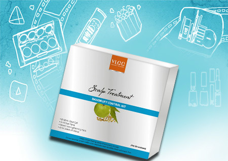 VLCC Scalp Treatment Kit for Dandruff Control