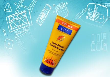 VLCC Surya Sandal Sun Block Lotion