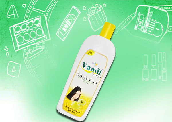Vaadi Herbals Amla Shampoo with Sheekakai and Reetha