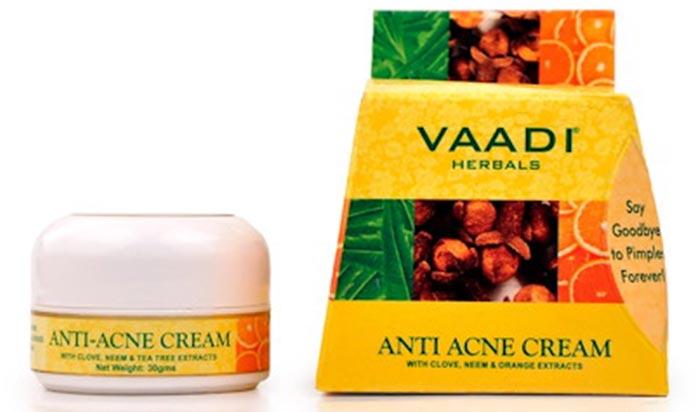 Vaadi Herbals Anti Acne Cream - Anti-Acne And Anti-Pimple Creams