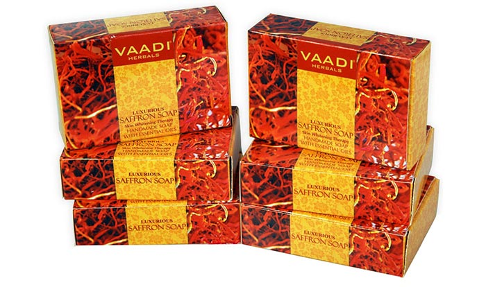 Vaadi Herbals Luxurious Saffron Skin Soap