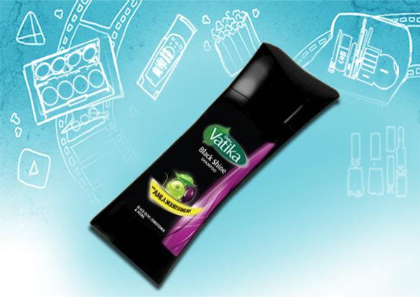 Vatika Black Olive & Almond Shampoo