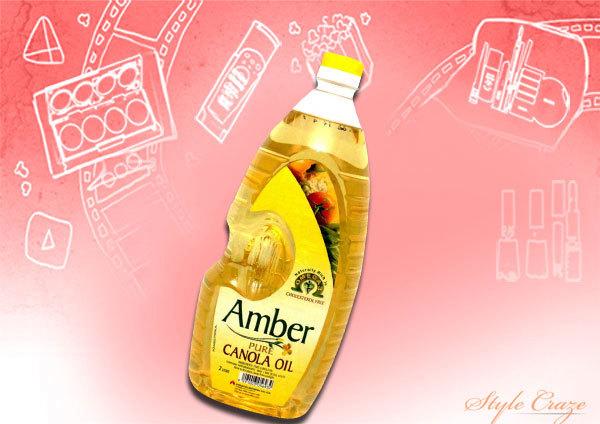 amber canola oil