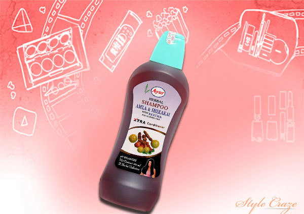amla shikakai with reetha shampoo