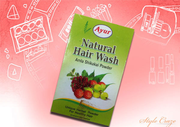 ayur natural hair wash