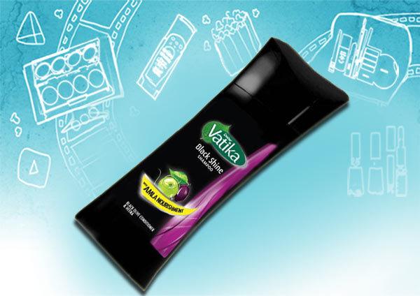 dabur vatika black shine shampoo