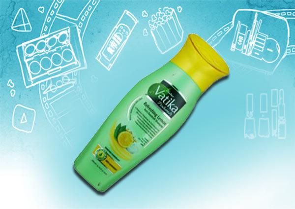 dabur vatika naturals refreshing lemon anti-dandruff shampoo