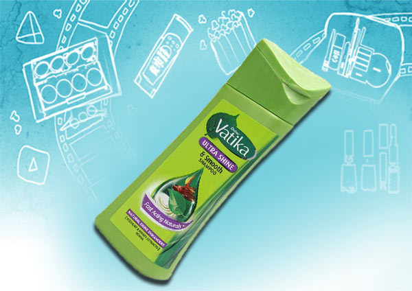 dabur vatika ultra shine & smooth shampoo