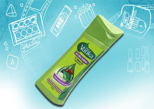 dabur vatika ultra shine & smooth shampoo