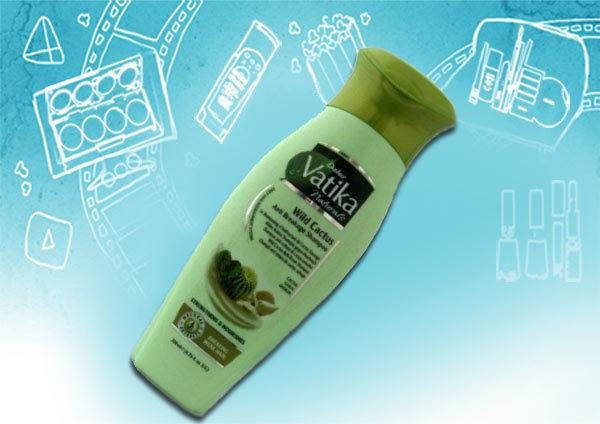 dabur vatika wild cactus anti breakage shampoo