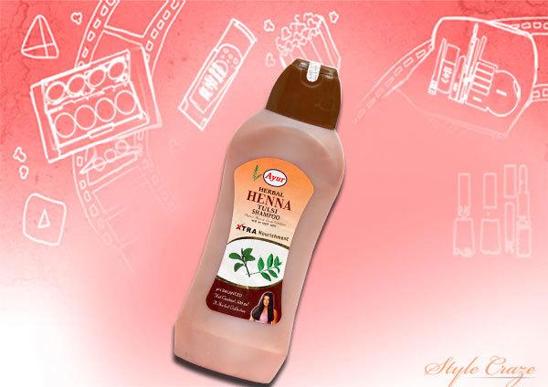 henna tulsi shampoo