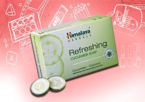 himalaya herbals cucumber soap
