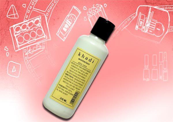 khadi aloe vera moisturising lotion