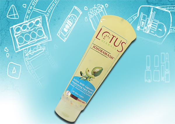 lotus herbals jojoba face wash