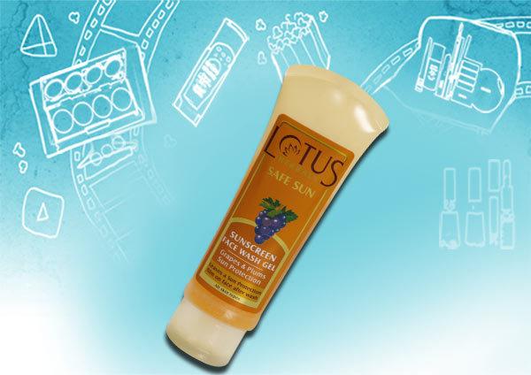 lotus herbals safe sun sunscreen gel