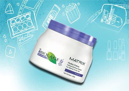 matrix biolage hydratherapie hydra- cream intense moisture masque