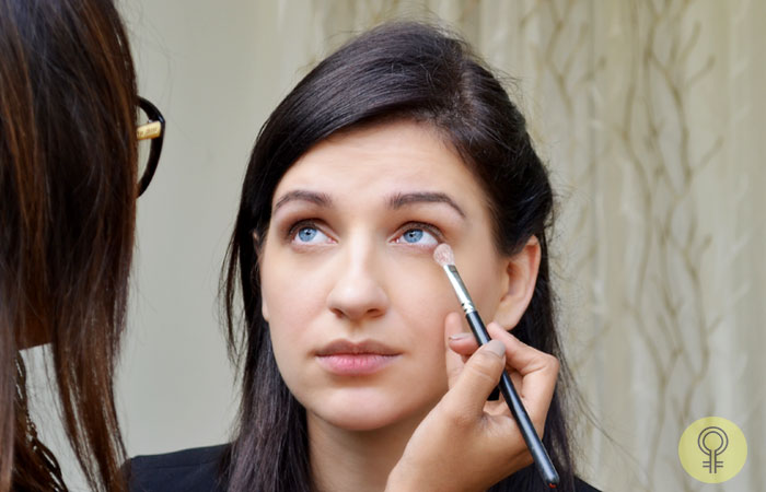 matte brown eyeshadow
