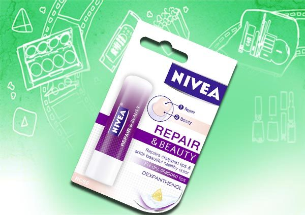 nivea repair and beauty lip balm