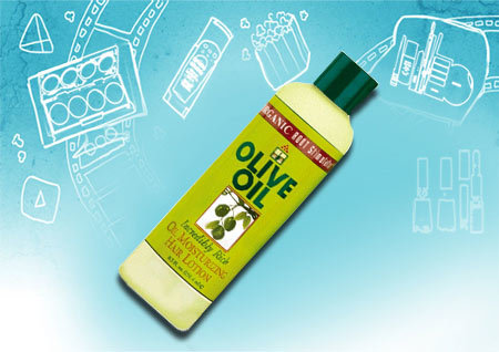 organic olive oil moisturizing hair lotion