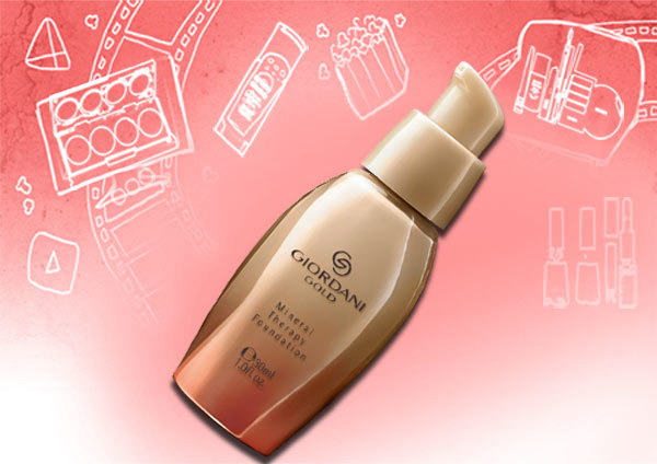 Best Mineral Foundations - 7. Oriflame Giordani Gold Mineral Therapy Foundation
