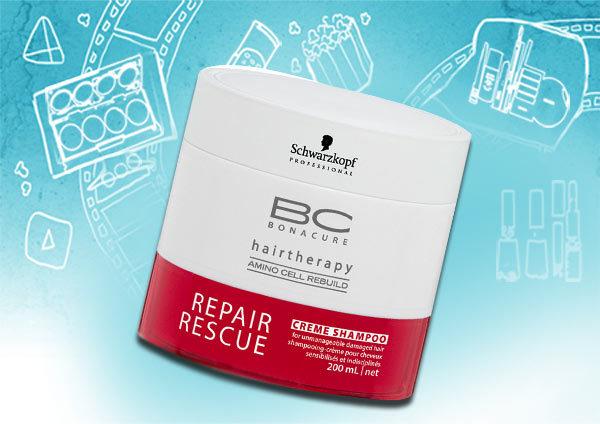 schwarzkopf bonacure repair rescue shampoo