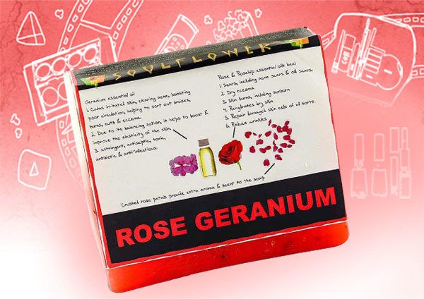 soulflower rose geranium soap review