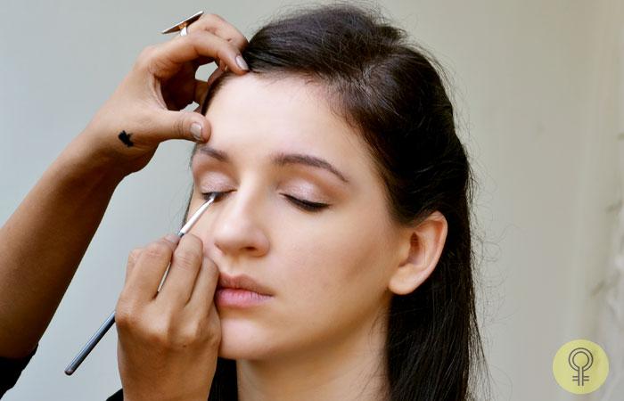 the black eye liner