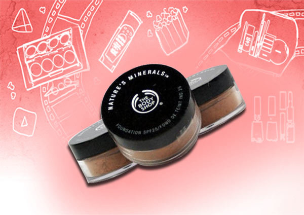 the body shop nature's mineral foundation