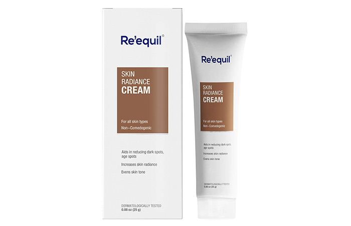 1. Re' Equil Skin Radiance Cream