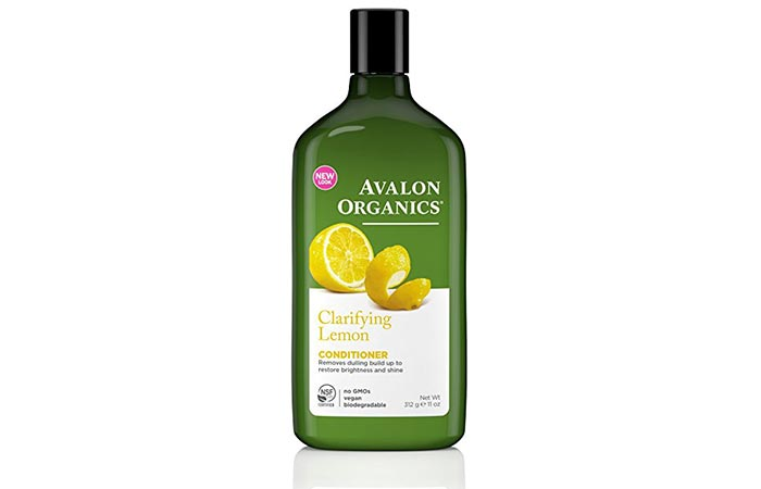 Conditioners For Oily Hair - Avalon Organics Lemon Conditione