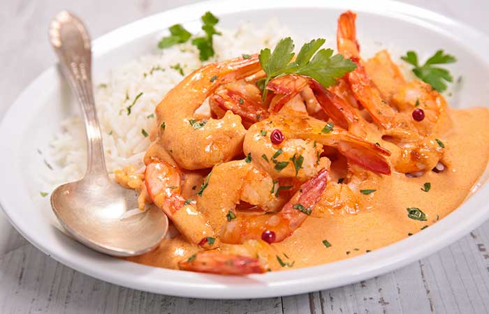 1. Coconut Shrimp Curry