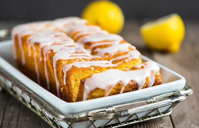Citrus Fruits - Glazed Lemon Coconut Loaf