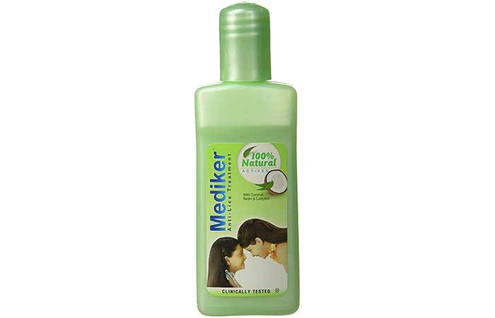 1. Mediker Anti-Lice Treatment Shampoo