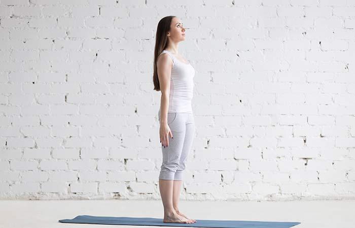 Tadasana - Easy Yoga Poses For Beginners