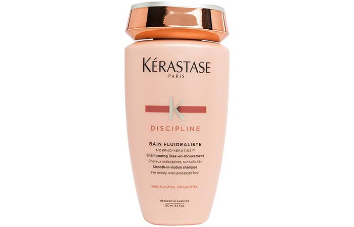 10. Kerastase Discipline Bain Fluidealiste Smooth-In-Motion Shampoo